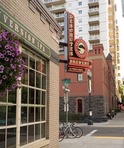 Deschutes Brewery Public House, NW 11th Ave., Portland, Multnomah County, Oregon, USA