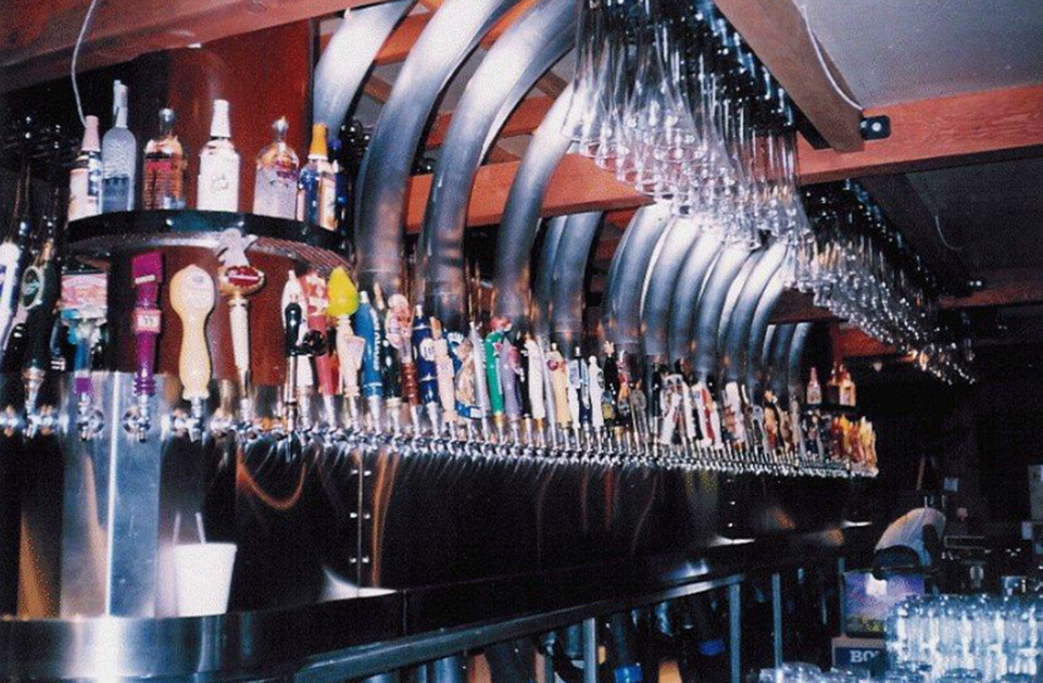 The Yard House Long Beach And Costa Mesa, California Locations Feature A  Transparent Keg Room Containing More Than 600 Barrels, Some 1,000 Gallons  Of Beer, ...