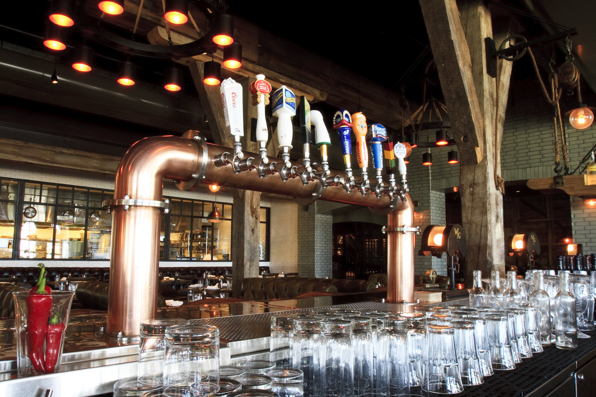 Featured Draft Beer Installation Water Grill San Diego